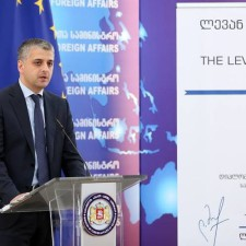 "Levan Dolidze Delivered Lecture On ""georgia On Its Way Of European Integration"""
