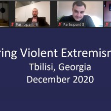 Training on countering violent extremism