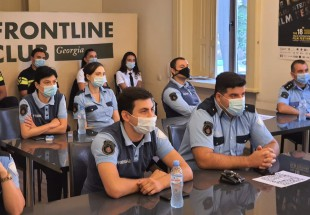 Trainings on communication issues were conducted for Tbilisi Police and Patrol Police Departments of the MIA