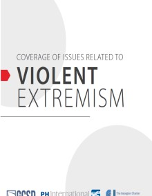 Coverage of Issues Related to Violent Issues - Manual for Media